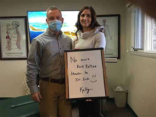 Zehr Chiropractic testimonials - Katie